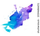 abstract background. watercolor ... | Shutterstock . vector #1034686651