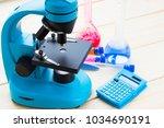 chemistry class makes chemistry ... | Shutterstock . vector #1034690191