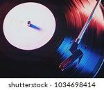 phono or capsule head of... | Shutterstock . vector #1034698414