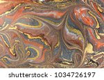 marble abstract acrylic... | Shutterstock . vector #1034726197