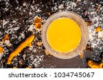 close up of ingredients of... | Shutterstock . vector #1034745067