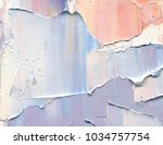 highly textured  abstract... | Shutterstock . vector #1034757754