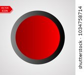 button vector illustration with ... | Shutterstock .eps vector #1034758714