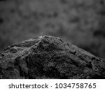 a rough textured rock with... | Shutterstock . vector #1034758765