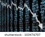 Stock Market   Arrow Graph...