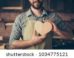 i love my job  cropped close up ... | Shutterstock . vector #1034775121