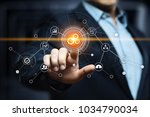 automation software technology... | Shutterstock . vector #1034790034