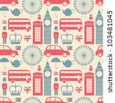 Seamless Pattern With London...