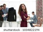 fashion designer  on studio...   Shutterstock . vector #1034822194