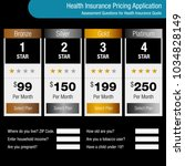 an image of a health insurance... | Shutterstock .eps vector #1034828149