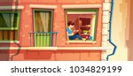 vector illustration section of...   Shutterstock .eps vector #1034829199