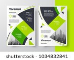 flyer brochure design template... | Shutterstock .eps vector #1034832841