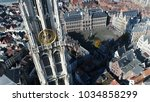 aerial photo of cathedral of...   Shutterstock . vector #1034858299