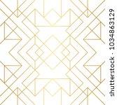seamless geometric pattern.... | Shutterstock .eps vector #1034863129