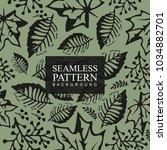 seamless pattern background... | Shutterstock .eps vector #1034882701