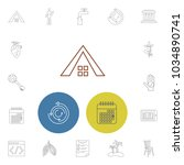 pack icons set with elearning ...