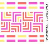 bright tile pattern | Shutterstock .eps vector #1034894965