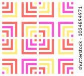 bright tile pattern | Shutterstock .eps vector #1034894971