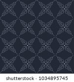 vector moroccan repeat pattern... | Shutterstock .eps vector #1034895745