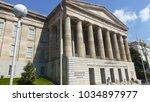 view in washington dc  usa.    Shutterstock . vector #1034897977