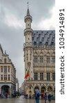 brussels  belgium   october 15  ... | Shutterstock . vector #1034914891