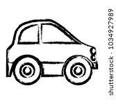 mini car icon   Shutterstock .eps vector #1034927989