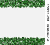 clover green is a confetti... | Shutterstock .eps vector #1034933029
