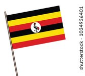 flag of uganda   uganda flag... | Shutterstock .eps vector #1034936401