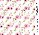 nature flower illustration... | Shutterstock .eps vector #1034942215