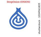 vector deeponion  onion ... | Shutterstock .eps vector #1034961835