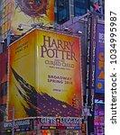 manhattan  new york city usa  ... | Shutterstock . vector #1034995987