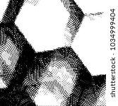 grunge halftone black and white ... | Shutterstock .eps vector #1034999404