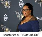 oprah winfrey at the los... | Shutterstock . vector #1035006139