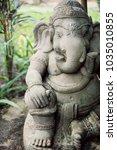 Ganesha Statue In Asian Hotel...