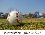 baseball in the park | Shutterstock . vector #1035037327