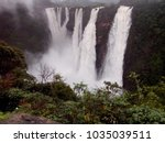jog falls are located in the... | Shutterstock . vector #1035039511