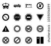 solid vector icon set   airport ...   Shutterstock .eps vector #1035056899