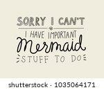 unique handdrawn lettering... | Shutterstock .eps vector #1035064171