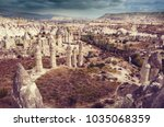 cappadocia in turkey | Shutterstock . vector #1035068359