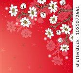 wedding card or invitation... | Shutterstock .eps vector #1035072661