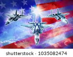 3d Rendering Three Fighter...