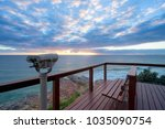 north burleigh lookout  gold... | Shutterstock . vector #1035090754