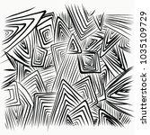 a straight line of black... | Shutterstock .eps vector #1035109729