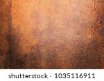 rusty metal texture background... | Shutterstock . vector #1035116911