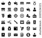flat vector icon set   wallet...   Shutterstock .eps vector #1035126121