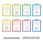 set of infographic elements... | Shutterstock .eps vector #1035135745