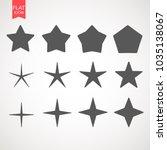 star logo icon design template... | Shutterstock .eps vector #1035138067