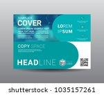 presentation layout design... | Shutterstock .eps vector #1035157261