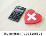 calculation for medical... | Shutterstock . vector #1035158521