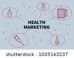 conceptual business... | Shutterstock . vector #1035163237